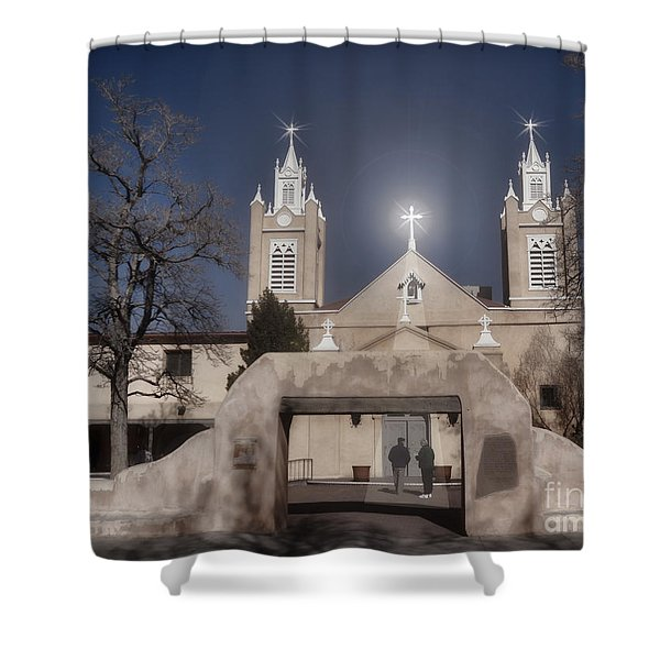 A Blessed Couple Shower Curtain