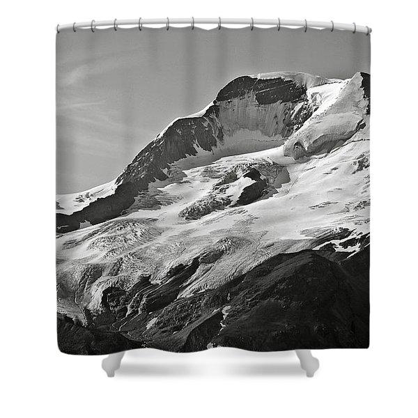 A Glacier In Jasper National Park Shower Curtain