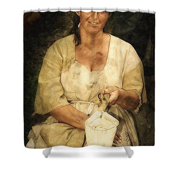 A Small Gift Please Shower Curtain