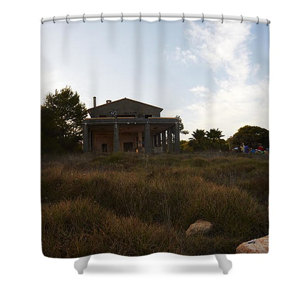 Acces To Es Trenc Shower Curtain