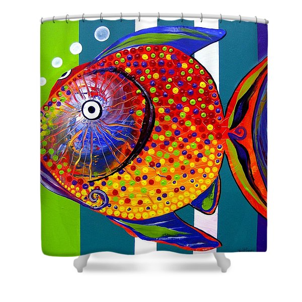 Acidfish 60 Shower Curtain