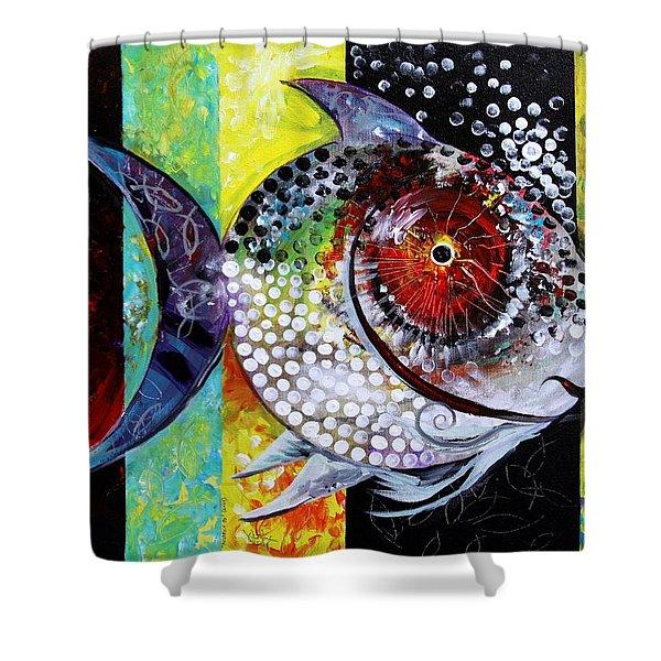 Acidfish 70 Shower Curtain