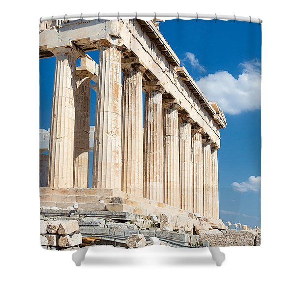 Acropolis Parthenon 3 Shower Curtain