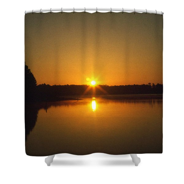 Alabama: Gulf State Park Shower Curtain