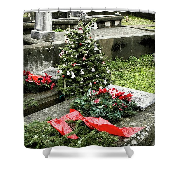 Always Home For Christmas Shower Curtain