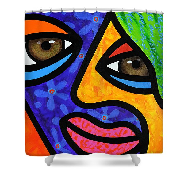 Aly Alee Shower Curtain