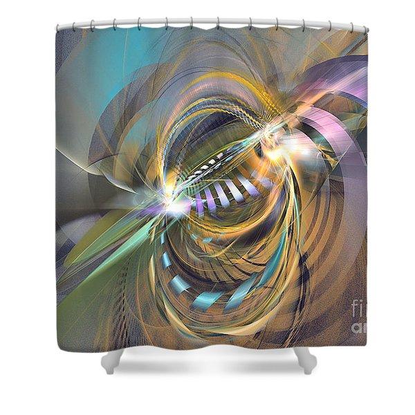 Amadeus - Abstract Art Shower Curtain