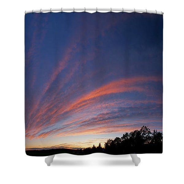 Amazing Clouds Edmonton Shower Curtain
