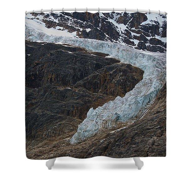 Angel Glacier 2 Shower Curtain