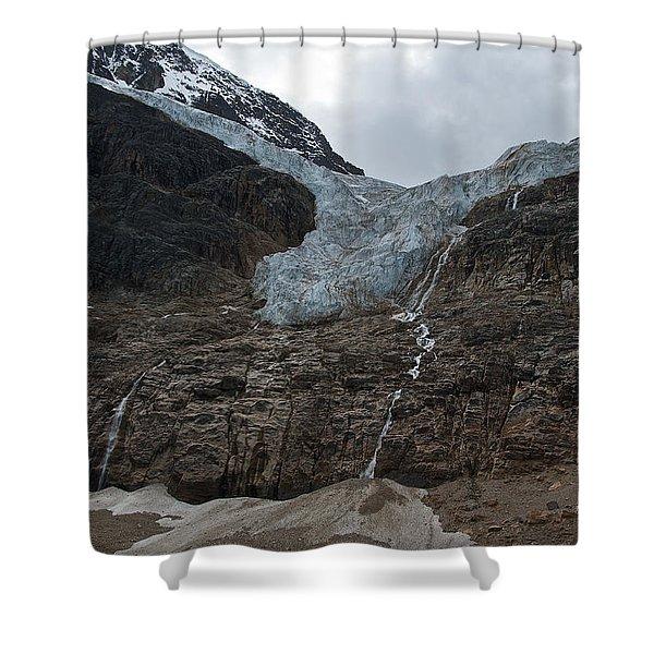 Angel Glacier Jasper Shower Curtain