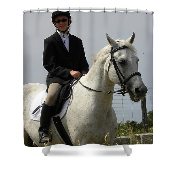 Another Beau  Shower Curtain