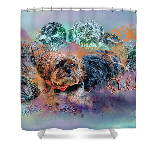 Another Birthday 112 Years Shower Curtain