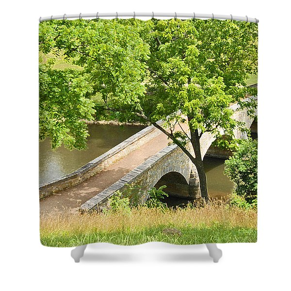 Antietam's Burnside Bridge Shower Curtain