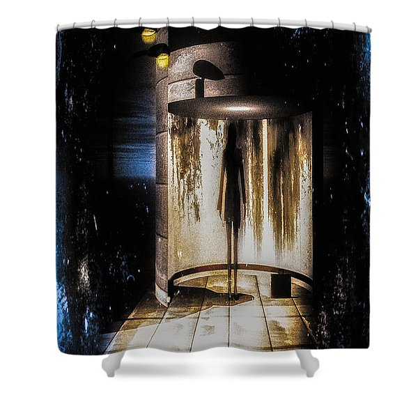 Apparition Shower Curtain