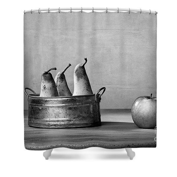 Apple And Pears 02 Shower Curtain