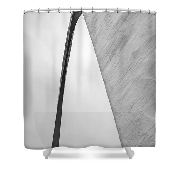 Arching Shower Curtain