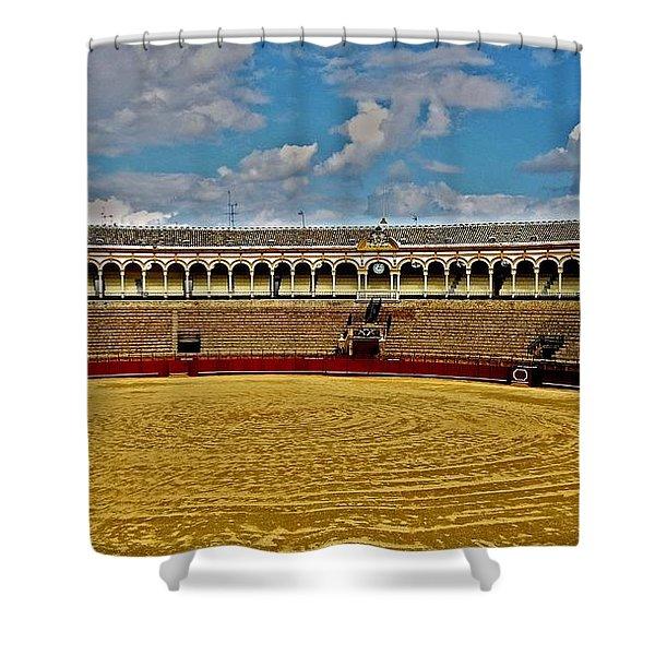 Arena De Toros - Sevilla Shower Curtain