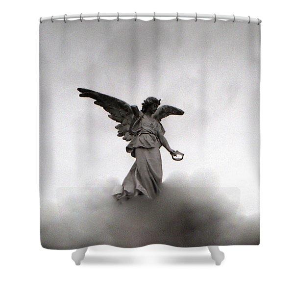 Armless Angel Shower Curtain