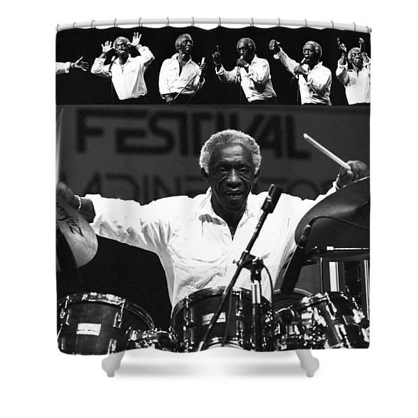 Art Blakey 1 Shower Curtain