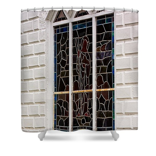 Art In Glass Shower Curtain