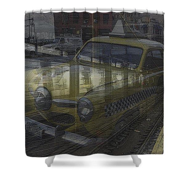 Asphalt Series - 8 Shower Curtain