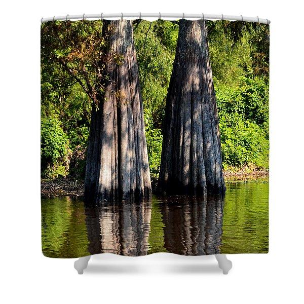 Atchafalaya Basin 53 Shower Curtain