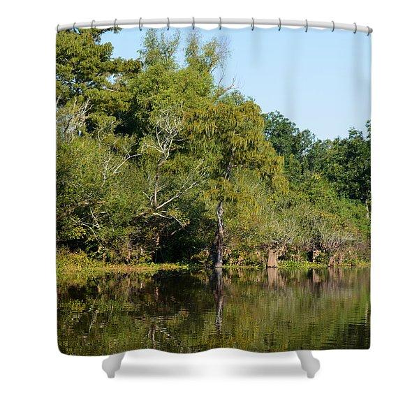 Atchafalaya Basin 7 Shower Curtain