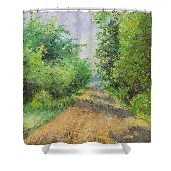 August Lane Shower Curtain