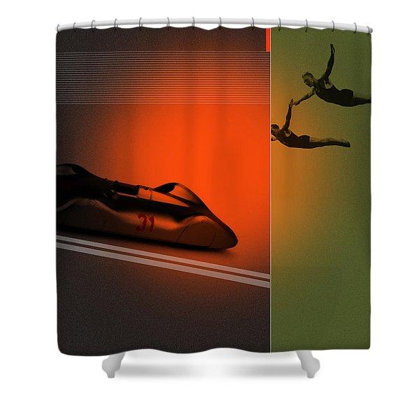 Autounion Shower Curtain
