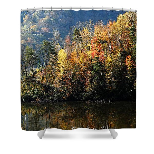 Autumn At Jenny Wiley Shower Curtain