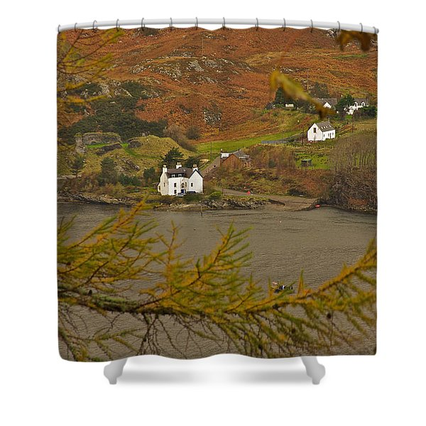 Autumn Colour Shower Curtain