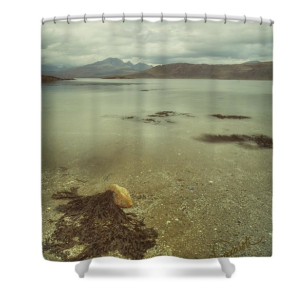 Autumn Day At The Seaside Shower Curtain