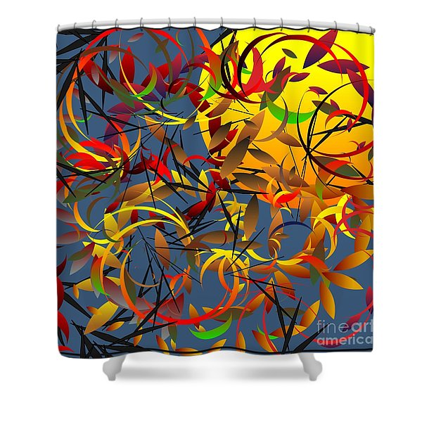 Autumn Wind 2012 Shower Curtain