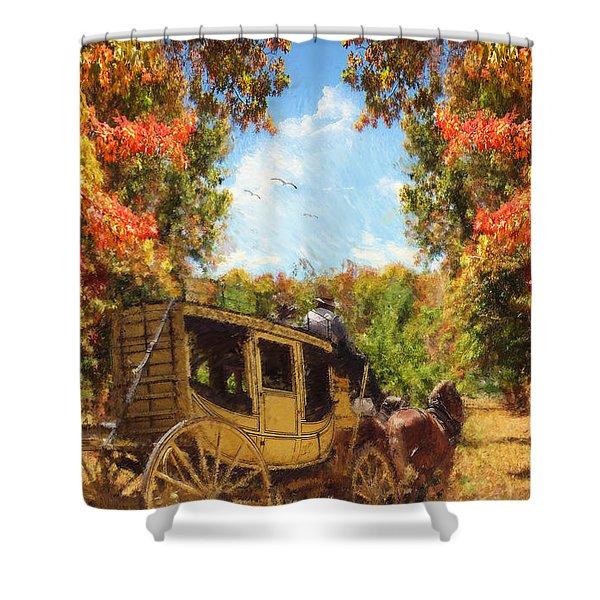 Autumn's Essence Shower Curtain