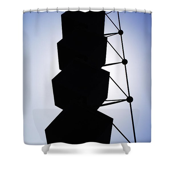 Shower Curtain featuring the photograph Backlight Structure by Agusti Pardo Rossello