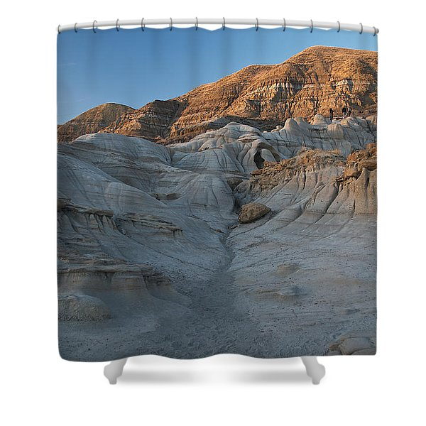 Badlands Sunset Shower Curtain