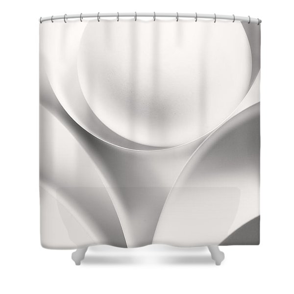 Ball And Curves 01 Shower Curtain