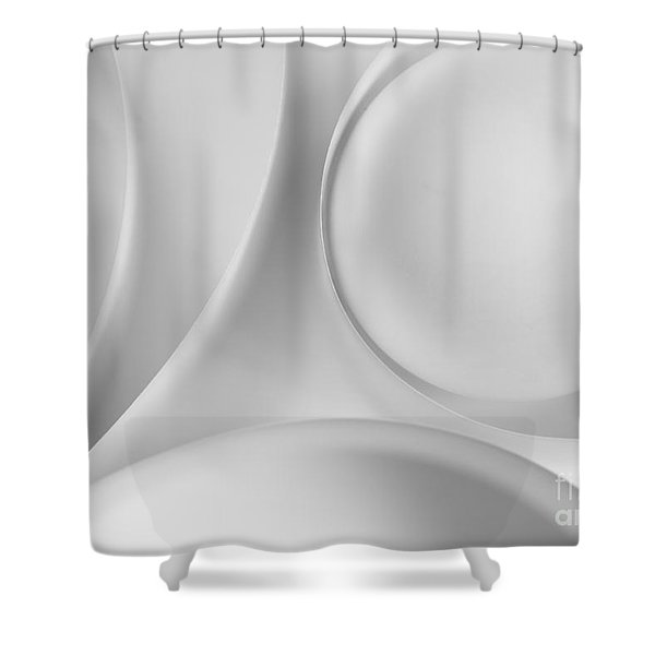 Ball And Curves 09 Shower Curtain