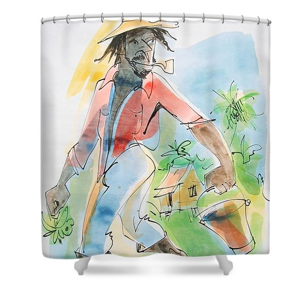 Banana Season Shower Curtain