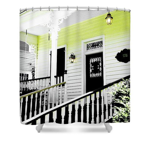 Beauregard Town Baton Rouge Shower Curtain