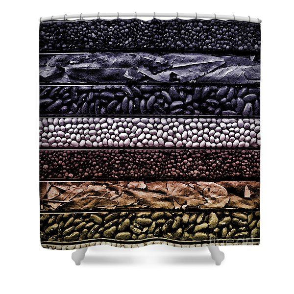 Beyond The Bean Seed Shower Curtain