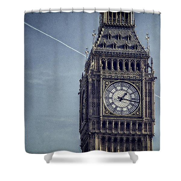 Big Ben Chimes Shower Curtain