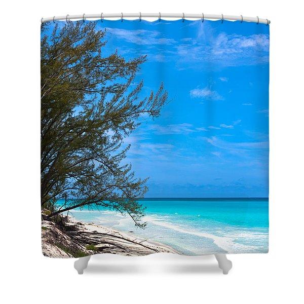 Bimini Beach Shower Curtain