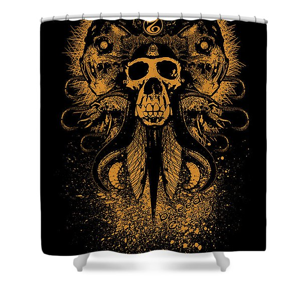 Bleed The Chimp Shower Curtain