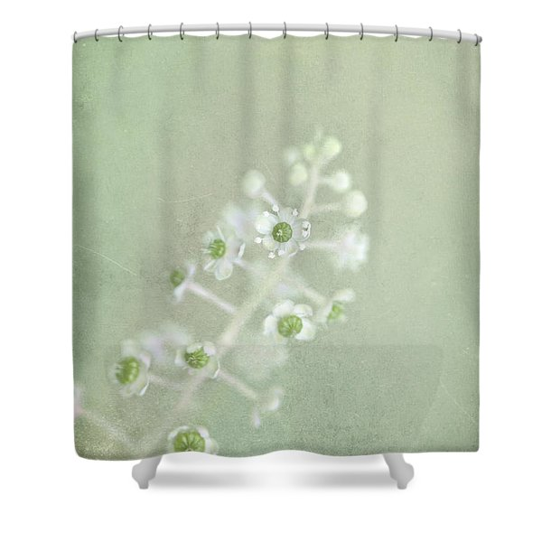 Blossoms Unfolding Shower Curtain