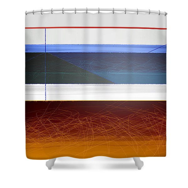 Blue Bridge To Life Shower Curtain
