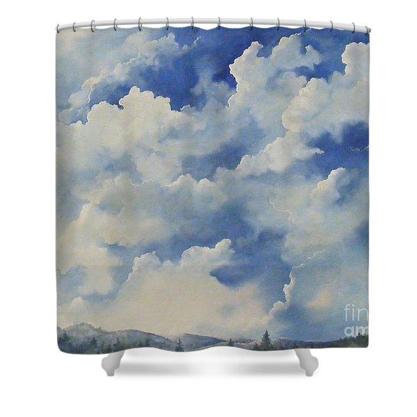 Blue Ridge Vista...sold  Shower Curtain