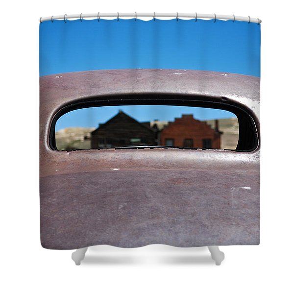 Bodie Ghost Town I - Old West Shower Curtain