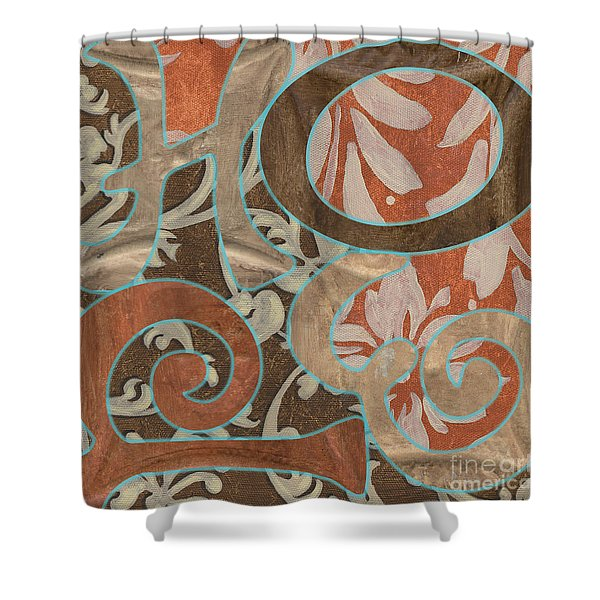 Bohemian Hope Shower Curtain