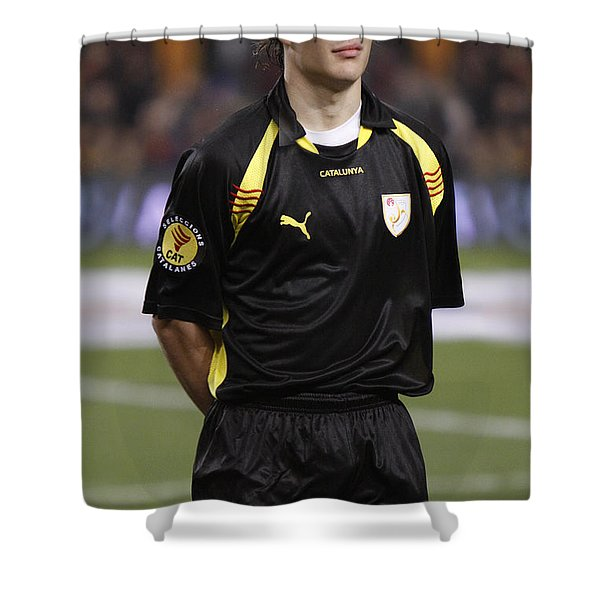 Shower Curtain featuring the photograph Bojan Krkic by Agusti Pardo Rossello